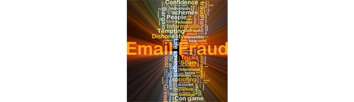 Email Scams. A few key points.